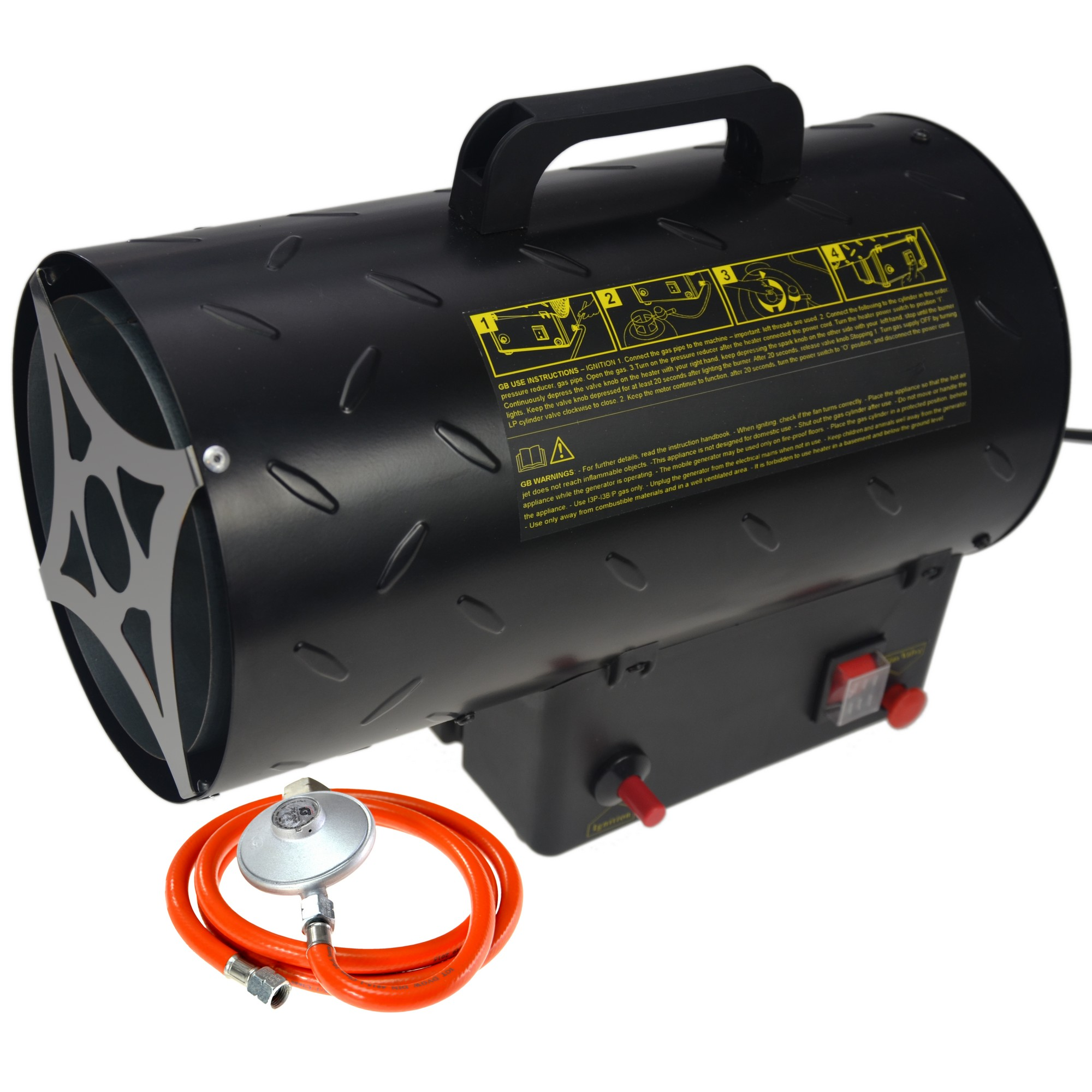 nagrzewnica gazowa