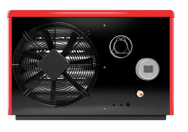 nagrzewnica gazowa Sun Beam 18 kW czerwona tyłem