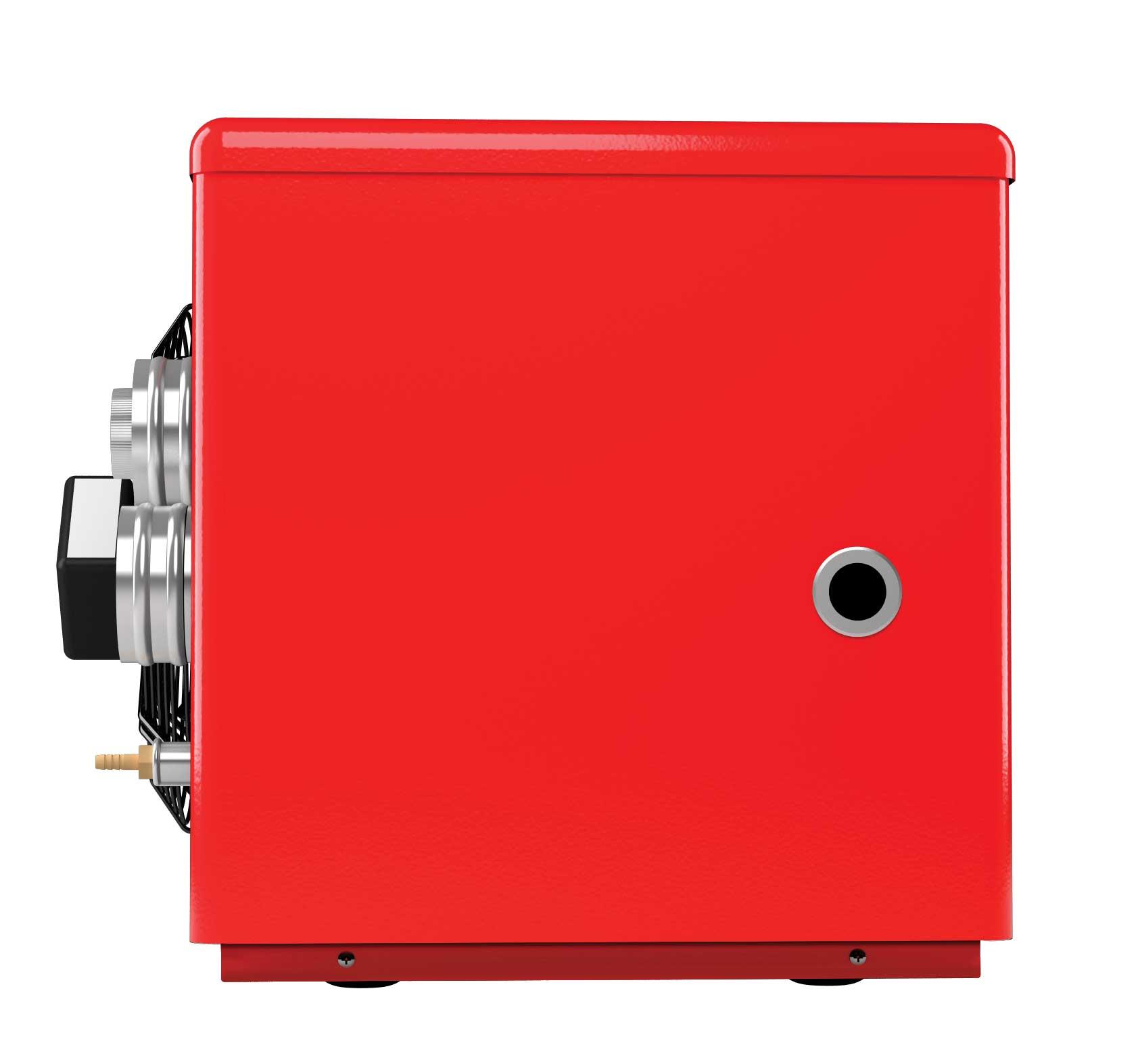 Dmuchawa gazowa z wyrzutem spalin o mocy 18 do ogrzewania warsztatów zasilana LPG i gazem ziemnym