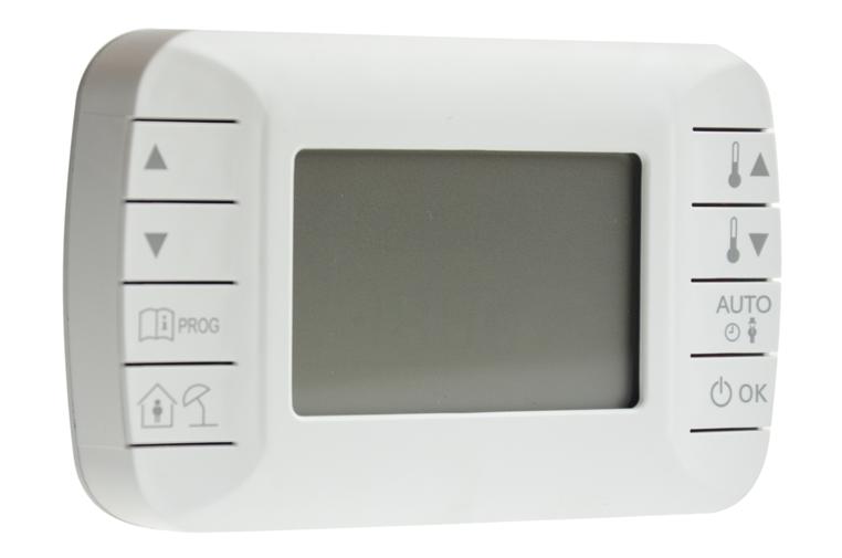 Termostat do nagrzewnicy gazowej powietrza GH. Automatycznie włącza i wyłącza nagrzewnice.